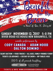 Benefit for the Brave poster
